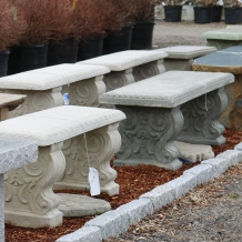 Cast Stone Benches