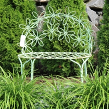 Metal Garden Furniture and Trellises